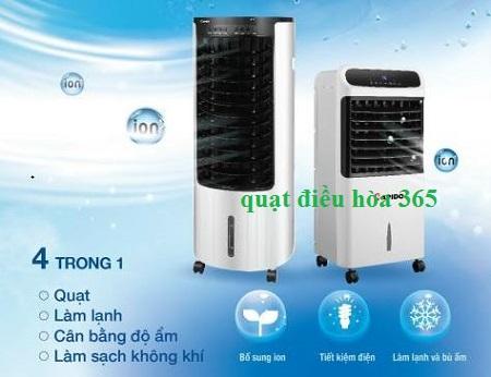 Quạt điều hòa cân bằng độ ẩm không khí