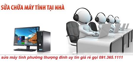sửa máy tính tại nhà phường thượng đình